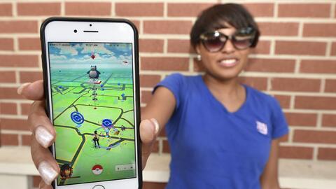 La aplicación de teléfono de Pokémon Go se ha vuelto muy popular.