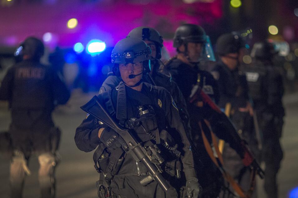 Los manifestantes han tomado varias calles del sur de California.