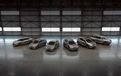 Nissan presenta el paquete Midnight Edition para muchos de sus productos...