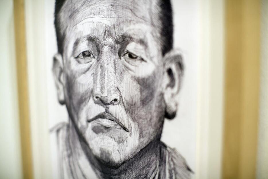 """""""Roberto Q"""", uno de 30 inmigrantes detenidos cuyos retratos so..."""