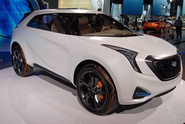 Este vehículo es el diseño número 12 del estudio de Hyundai en California.
