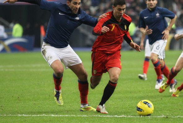 Asimismo, Francia recibió en el Stade de France a Bélgica.