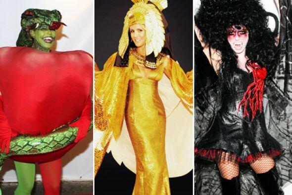 A 15 años de que comenzó la tradicional fiesta de Halloween de la modelo...