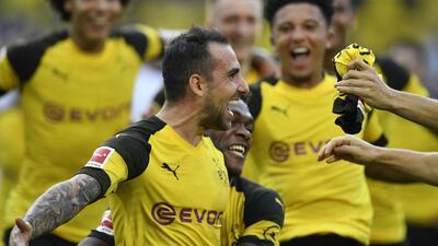 Borussia Dortmund 4 – 3 Augsburg | Goles y resumen completo