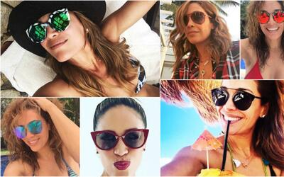 La colección de gafas de Karla Martínez