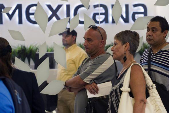 A menos de un año de que la aerolínea Mexicana de Aviación se declarara...
