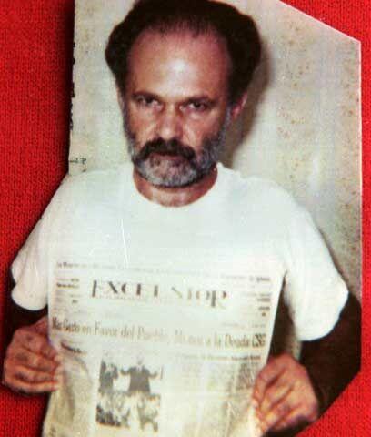 El banquero AlfredoHarp Helú, primo hermano del magnate mexicano...