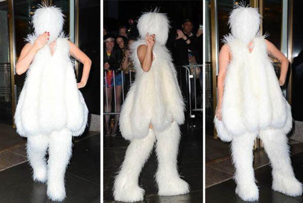 ¡Lady Gaga nuevamente nos dejó congelados del asombro con e...