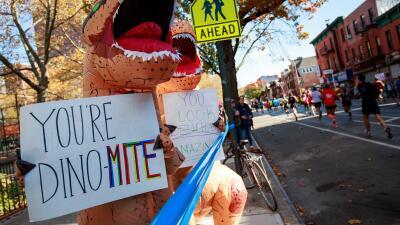 Cinco mensajes en la ruta del maratón de Nueva York, el más concurrido del mundo