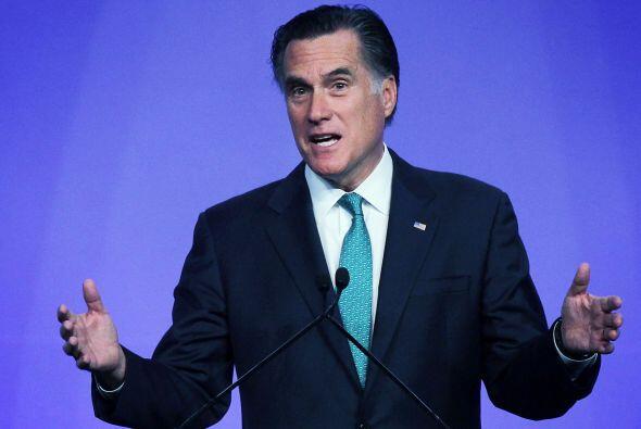Romney, ex inversor cuya fortuna se estima entre $190 y $250 millones, r...