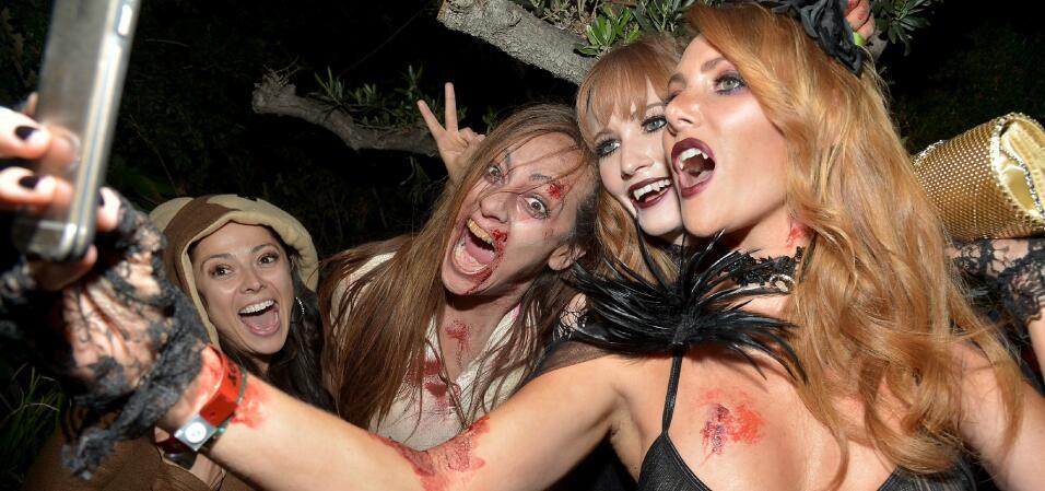 Halloween en la mansión Playboy