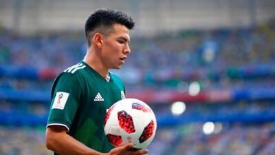 Hirving Lozano y el Mundial que le abrió paso en la agenda del Manchester United