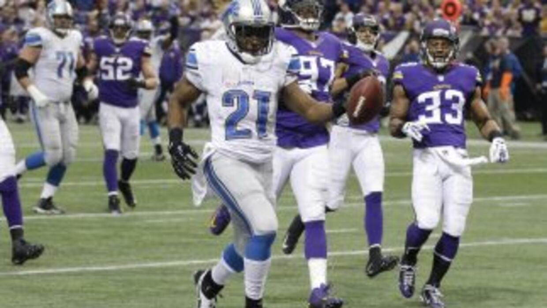 Reggie Bush quiere triunfar en los Lions (AP-NFL).