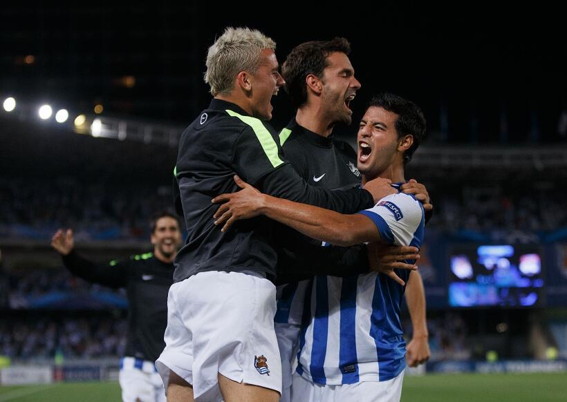En el reencuentro Griezmann-Vela, el Atlético venció 1-0 a la Real Getty...