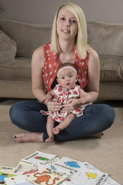 Ava Allen nació con una grave enfermedad pulmonar.