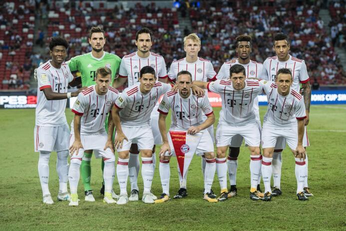 4. F.C. Bayern Múnich (Alemania)