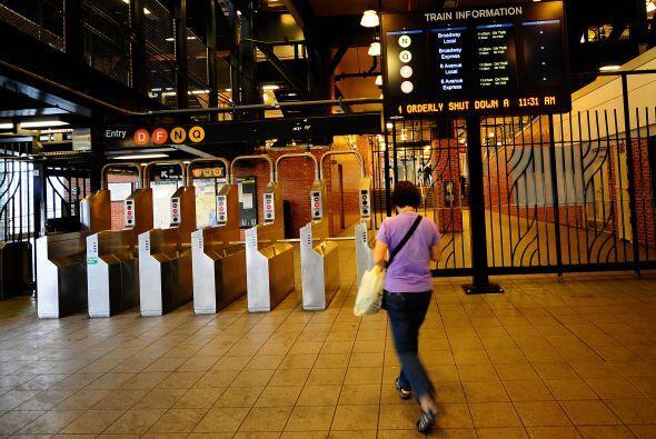 """Nueva York se había convertido en una """"ciudad fantasma"""" desde el sábado..."""