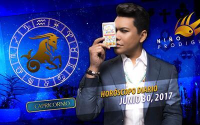 Niño Prodigio - Capricornio 30 de junio 2017