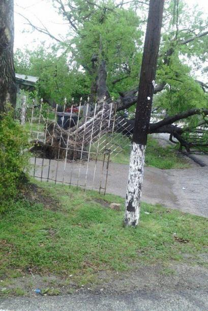 Granizada y tormentas afectaron al sureste de Texas
