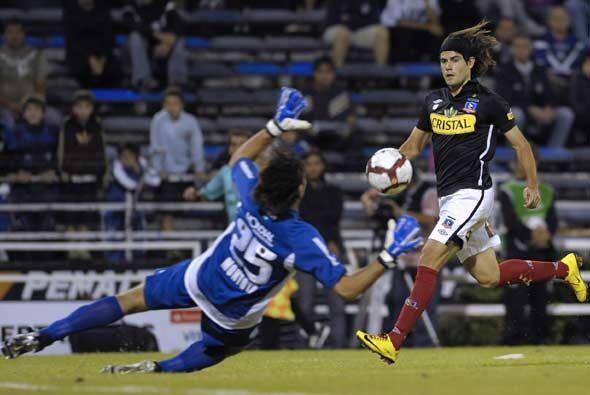 """El """"Cacique"""" chileno arrancó ganando con gol de Ezequiel Miralles en el..."""