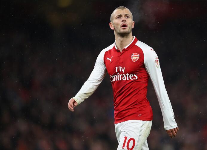 Jack Wilshere, con cada vez menos participación en el Arsenal, podría bu...