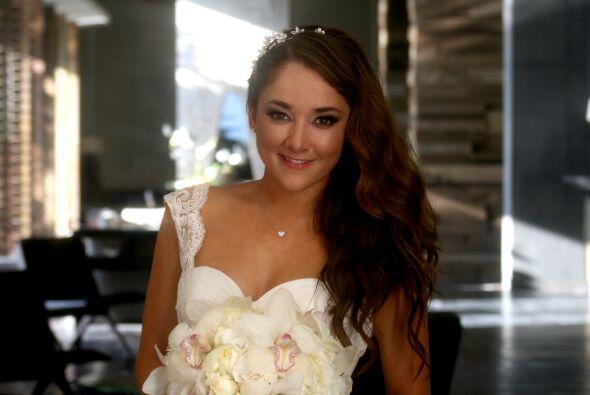 "Esta fue la boda ""chiquita"" pues aún falta el matrimonio por la iglesia."