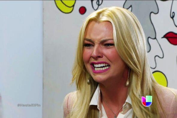 ¡Ya no llores Sofía! Piensa que de ahora en adelante, estarás muy cerca...