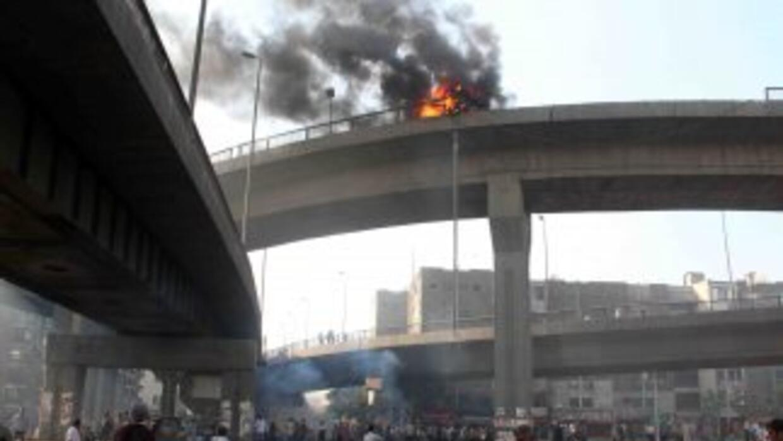 Egipto, sumido en violentas protestas.