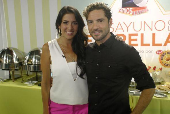 El guapo cantante español, David Bisbal reveló a Maity la emoción que si...