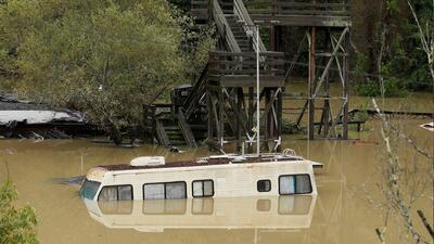 Tormenta en la Coste Oeste siembra caos a su paso storm
