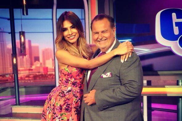 Alejandra y Raúl sólo vieron el espectáculo de lejos.