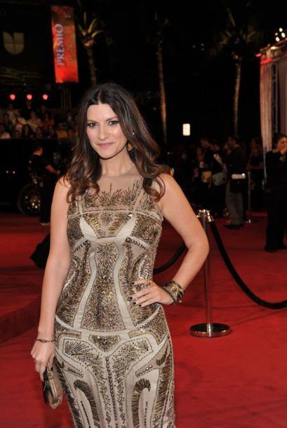 Laura Pausini tiene una de las miradas más dulces del mundo del espectác...