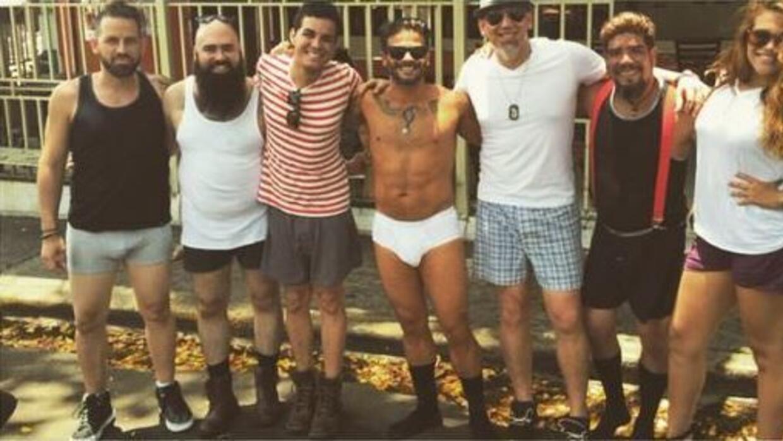 """El canatutor grabó el videoclip de su tema 'Libre"""" en calzoncillos y en..."""