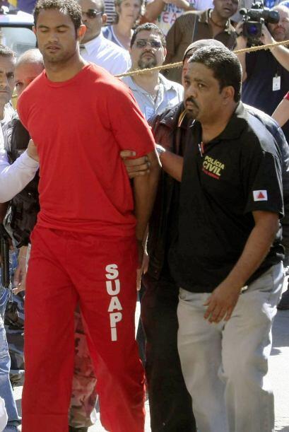 En 2010 Bruno, el ahora ex portero del Flamengo, pagó a unos sicarios pa...