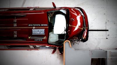 Pruebas de seguridad a minivans: no todas protegen al pasajero al mismo nivel