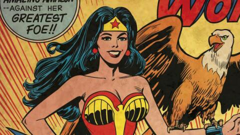 Wonder Woman es uno de los cómics con más episodios publicados