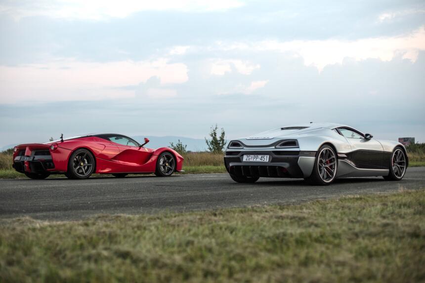 Imágenes del Rimac Concept_One, el auto eléctrico más rápido del 2016 im...