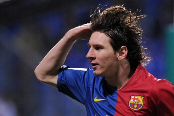 Temporada 2008/2009 - Lionel Messi (F.C. Barcelona) con 9 goles.
