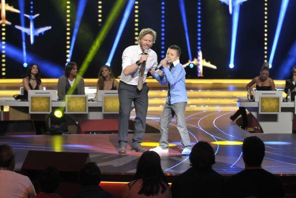 Toñito y Noel hicieron un gran dueto.
