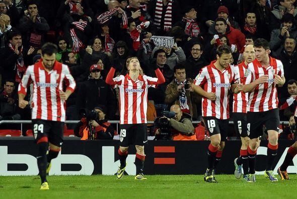 El premio al esfuerzo del Athletic llegó y gracias a su insistencia Iker...
