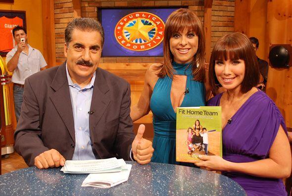 El Presidente y Rosana ya tienen el libro de Laura Posada.
