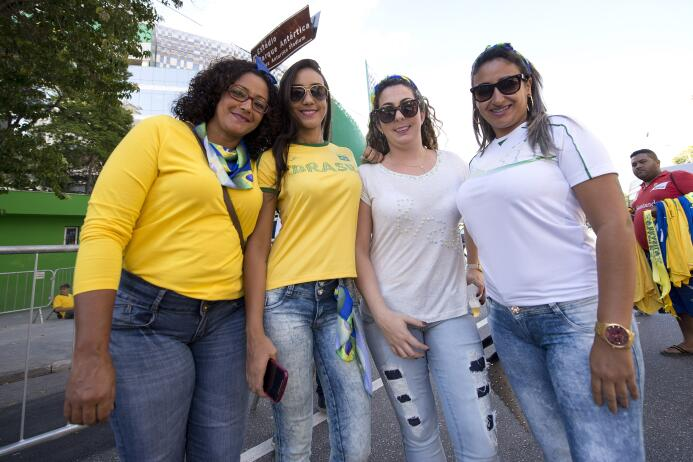 Las bellezas del Brasil vs. México
