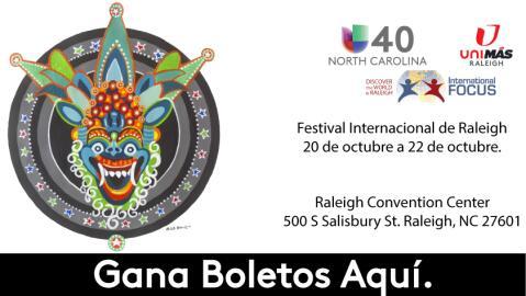 ¡No te pierdas el Festival Internacional de Raleigh!