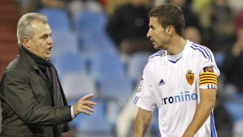 El 'Vasco' era el entrenador del Zaragoza en la época en que se disputó...