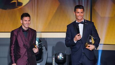 Cristiano Ronaldo y Lionel Messi encabezan la lista de los futbolistas más valiosos del mundo