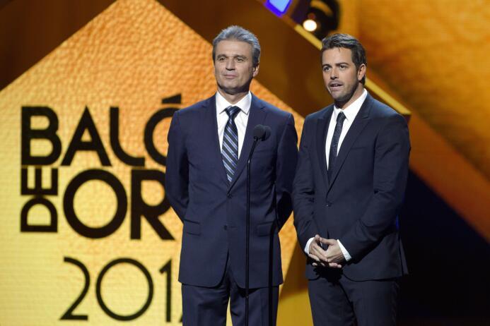 Ellos son los ganadores del Balón de Oro Nestor de la Torre y Mane de la...