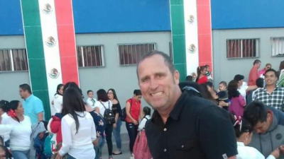 Doug Bradle, asesinado en México mientras vacacionaba.