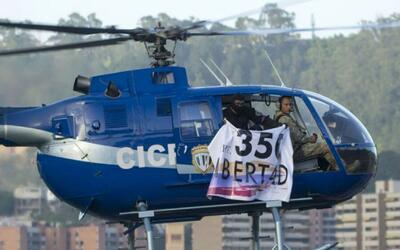 Venezolanos exiliados en Miami sospechan que el sobrevuelo en la sede de...