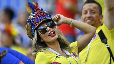 El toque femenino le da una alegría especial al duelo de Colombia y Senegal en el Mundial