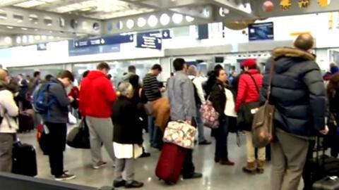 De 24 a 30 horas tendrían que esperar pasajeros en el Aeropuerto Interna...